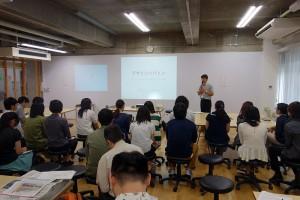Fig.02 大会実行委員長柚木先生による大会開会挨拶