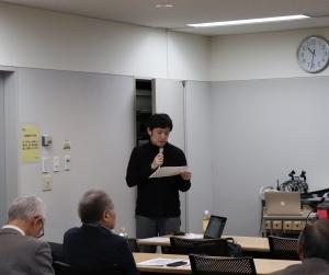 司会の加藤専任講師