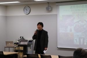 松岡教授の挨拶